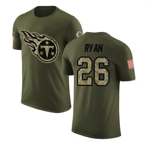 Logan Ryan Tennessee Titans Youth Legend Olive Salute to Service T-Shirt