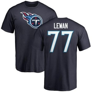 Taylor Lewan Tennessee Titans Youth Navy Pro Line Any Name & Number Logo T-Shirt -